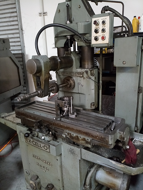 Kent-Ownes Milling Machine photo